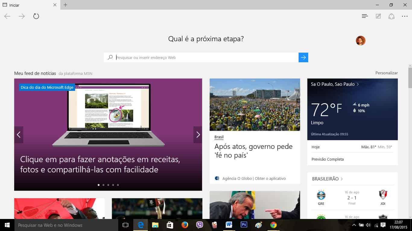 d8e5d417a09 Saiba como mudar a página inicial do navegador Microsoft Edge no ...