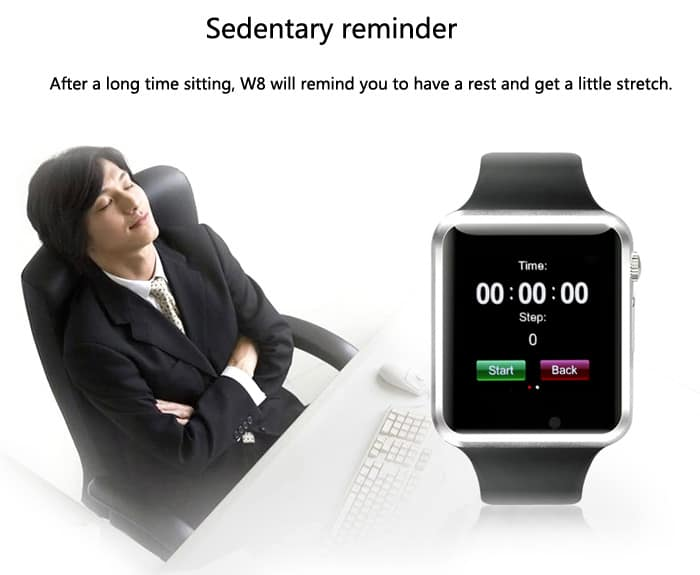 alerta de sedentario