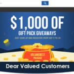 Sorteio: Site oferece dez pacotes de 1 mil dólares com gadgets