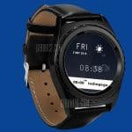 Smartwatch NO.1 S5 tem recursos de Apple Watch e visual de G Watch Urbane