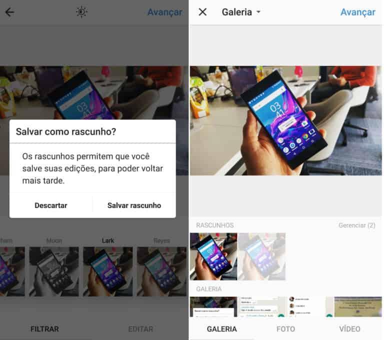 instagram-salvar-rascunhos