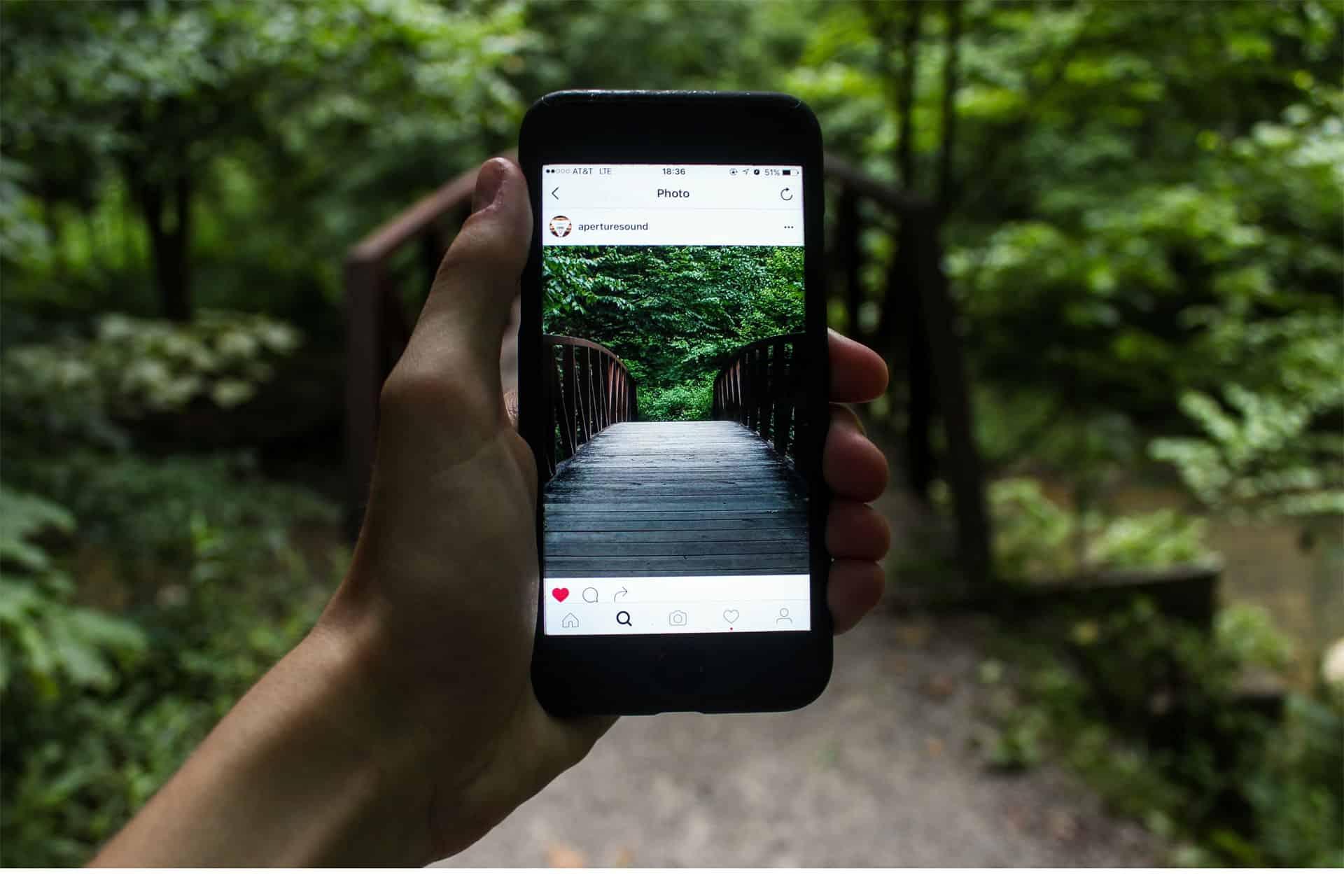 app-do-Instagram-em-smartphone-pexels-