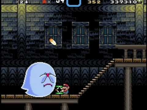 fantasma gigante super mario world