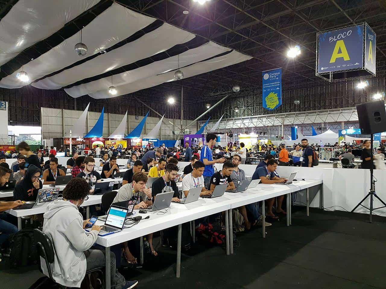 Campus Party Brasil 10 em São Paulo Foto por Mariana Passos