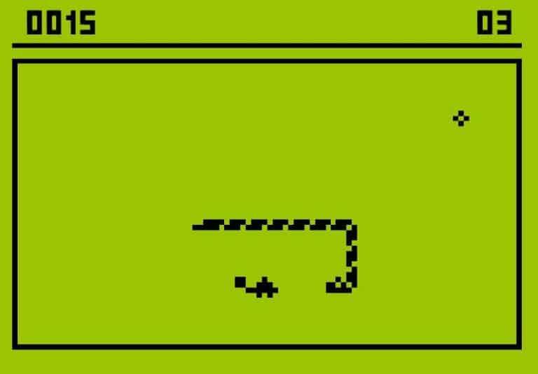 Jogo da cobrinha Snake